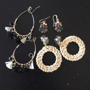 {LOFT} NWOT Earring Pack